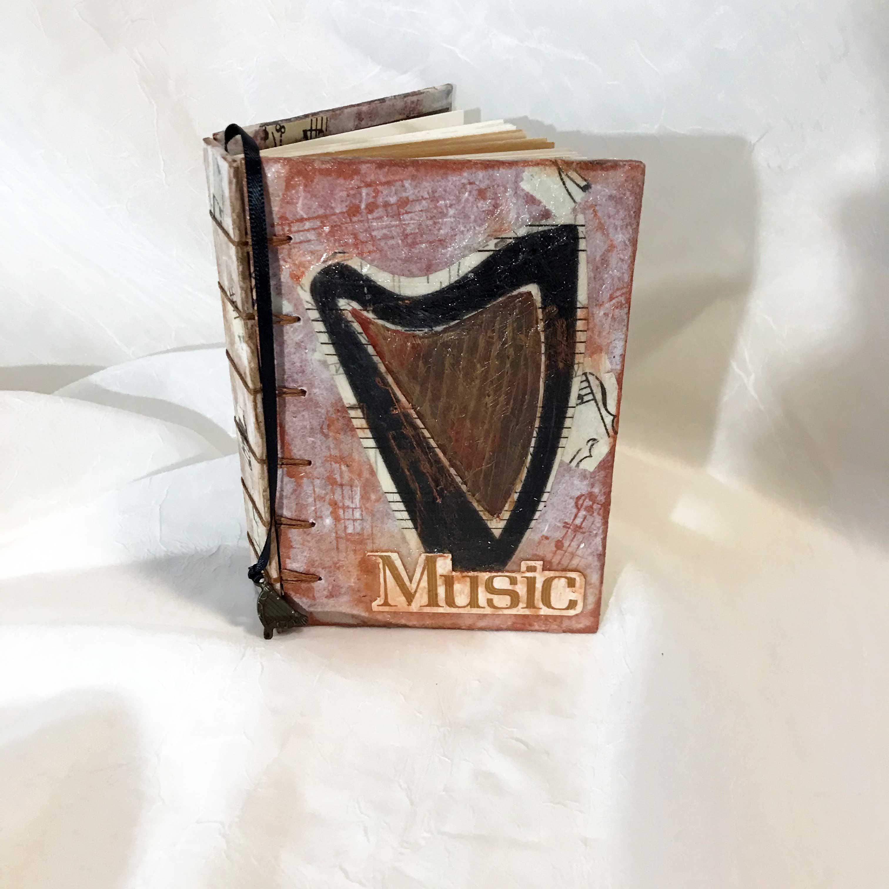 """Music is Magic"" Secret Belgium binding book (front cover). $40"