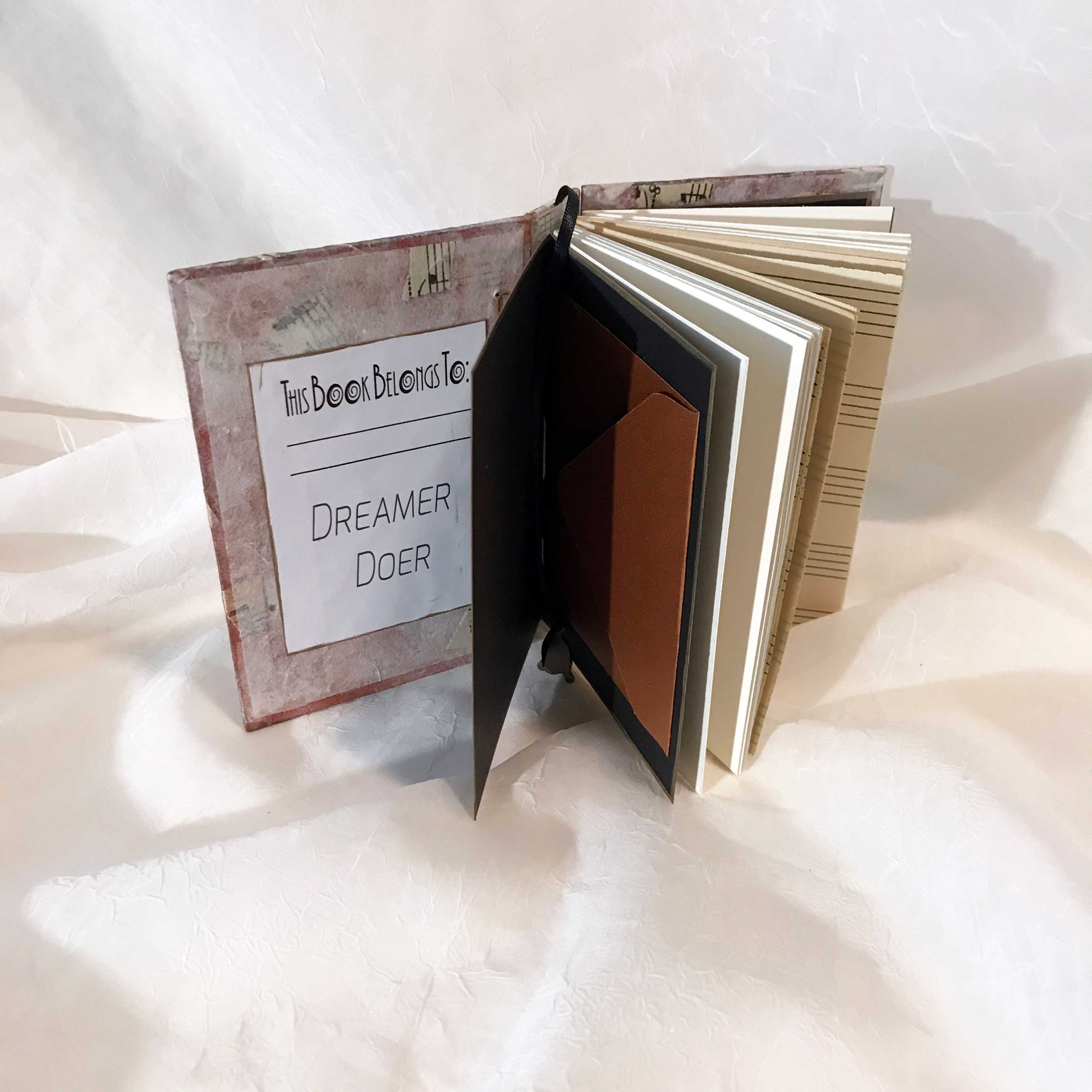 """Music is Magic"" Secret Belgium binding book (inside). $40"