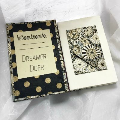 Secret Belgium binding book - small $40 (inside)